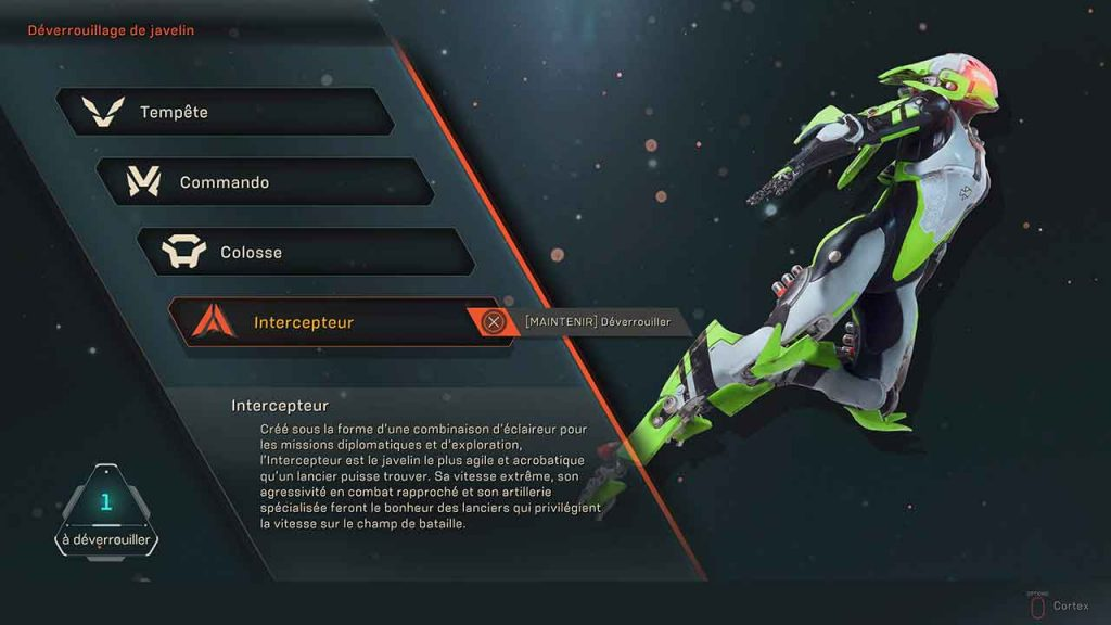 anthem-javelin-intercepteur-comment-debloquer