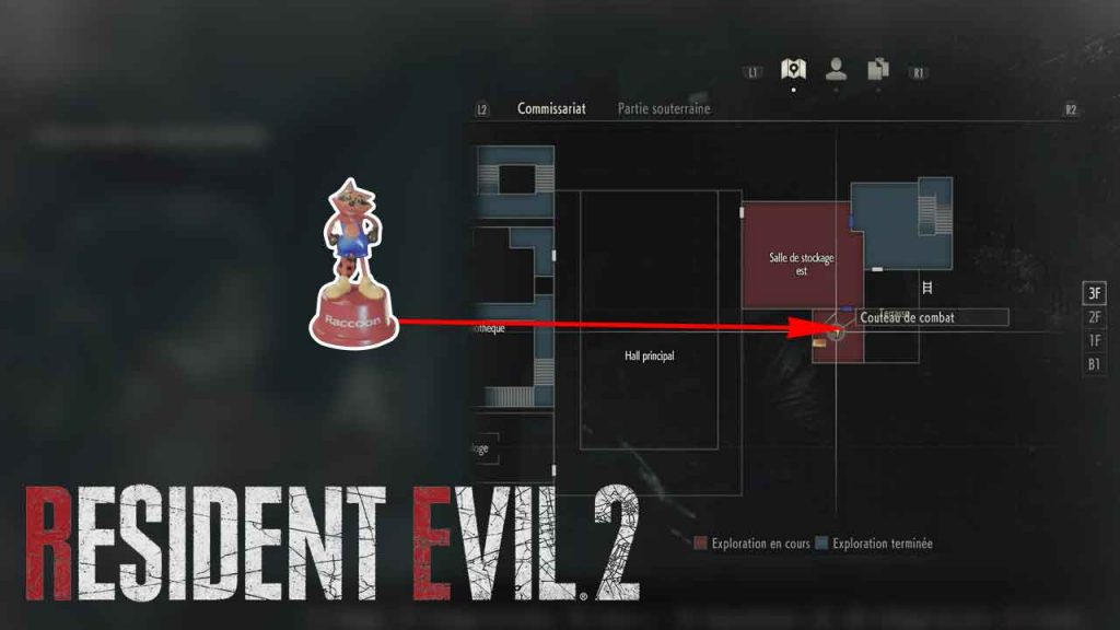emplacement-jouet-mr-raccoon-05-resident-evil-2-remake