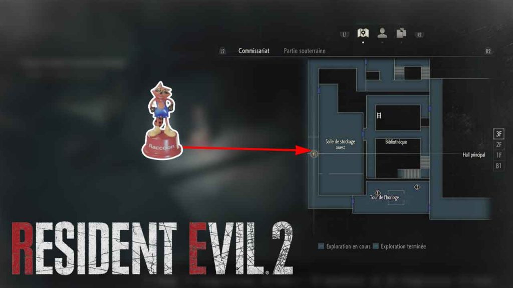 emplacement-jouet-mr-raccoon-07-resident-evil-2-remake