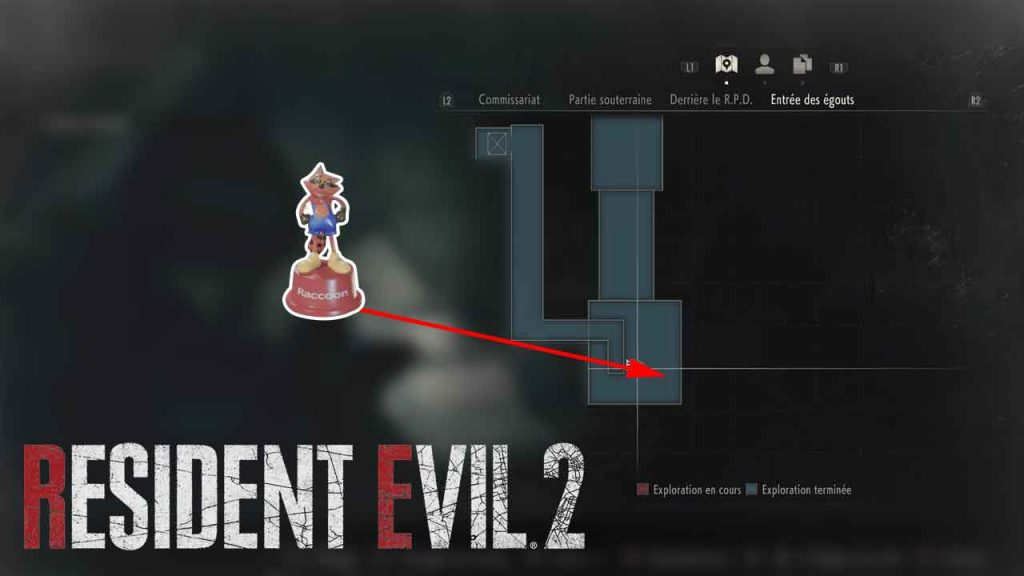 emplacement-jouet-mr-raccoon-09-resident-evil-2-remake