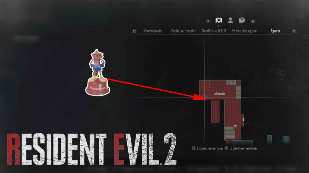 emplacement-jouet-mr-raccoon-12-resident-evil-2-remake