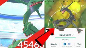 obtenir-Rayquaza-versionshiny-pokemon-go