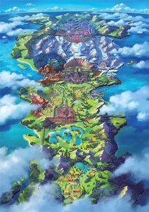 carte-map-region-de-Galar-pokemon-epee-et-bouclier