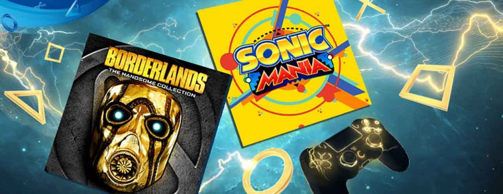 PS-Plus-Juin-2019-borderlands-sonic-mania