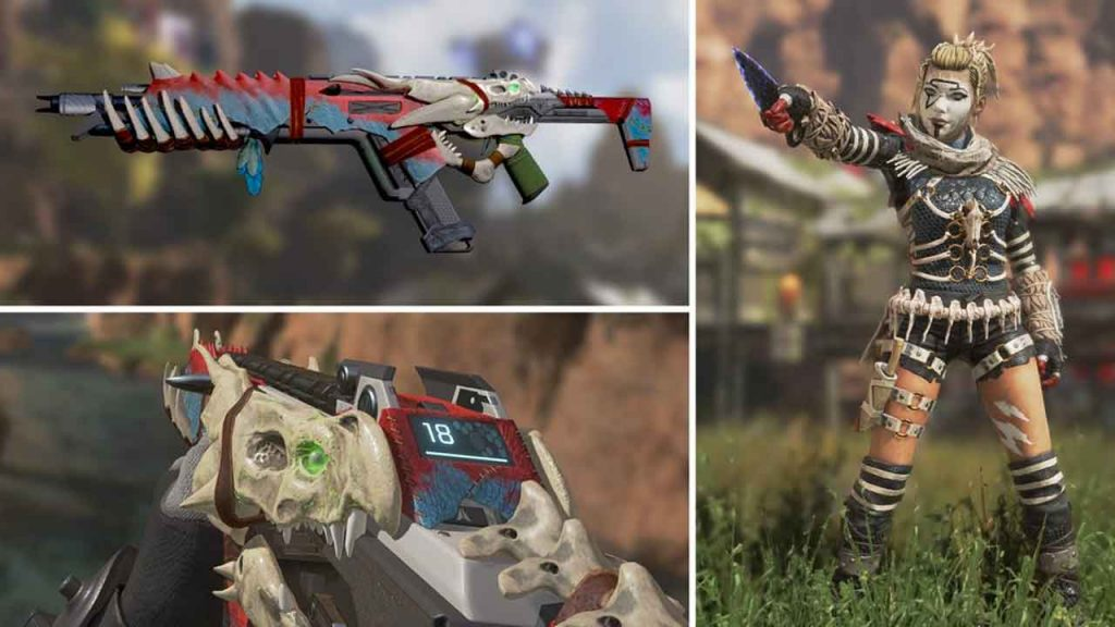 apex-legends-R301-proie-honoree-et-skin-terreur-nocturne-wraith