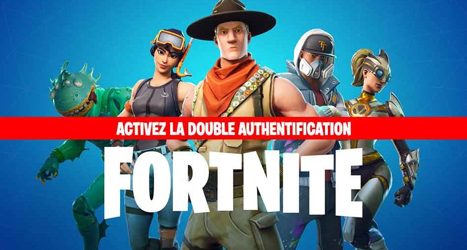 double-authentification-fortnite-A2F-epic-games