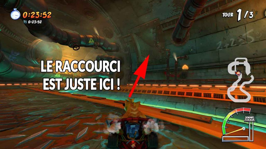 Crash-Team-Racing-Nitro-Fueled-emplacement-raccourci-circuit-egout