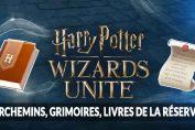 Harry-Potter-Wizards-Unite-parchemins-grimoires-livres-de-reserve