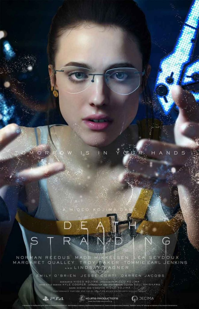 affiche-death-stranding-personnage-mama-margaret-qualley