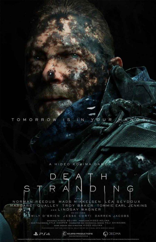 affiche-death-stranding-personnage-sam-porter-norman-reedus