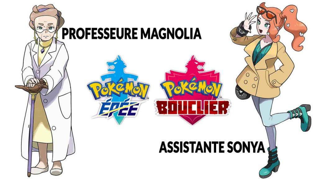 pokemon-epee-bouclier-professeure-magnolia-assistante-sonya