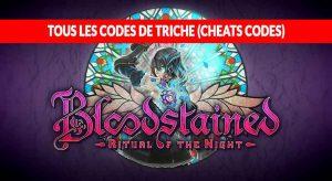 tous-les-codes-de-triche-de-Bloodstained-Ritual-of-the-Night