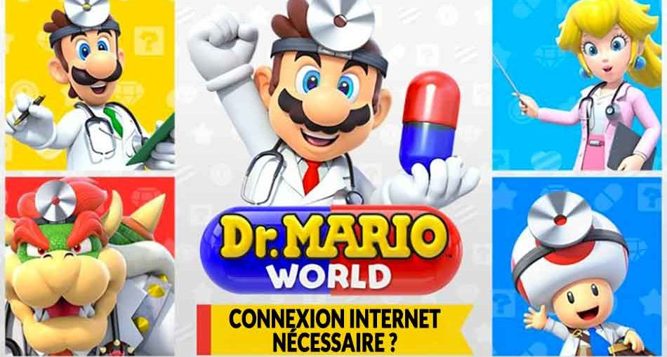 Dr-Mario-World-connexion-internet-permanente-obligatoire