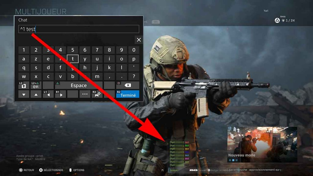 Cod-Modern-Warfare-changer-couleur-textes-chat
