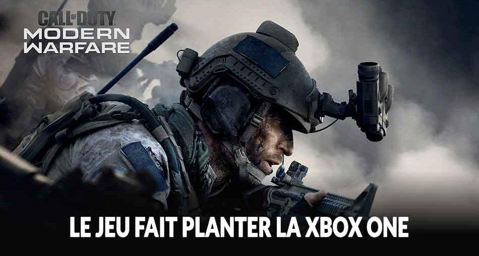 cod-modern-warfare-plantage-xbox-one-comment-faire
