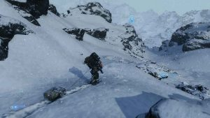 death-stranding-glissade-neige-avec-transporteur-flottant