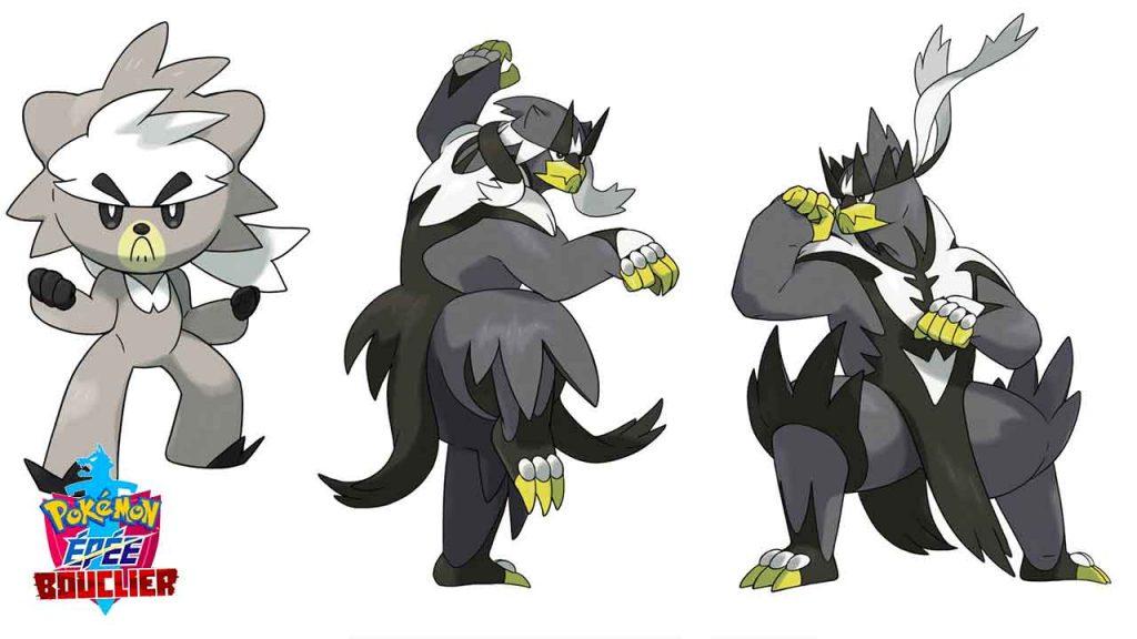 pokemon-epee-bouclier-Wushours-et-evolutions-Shifours