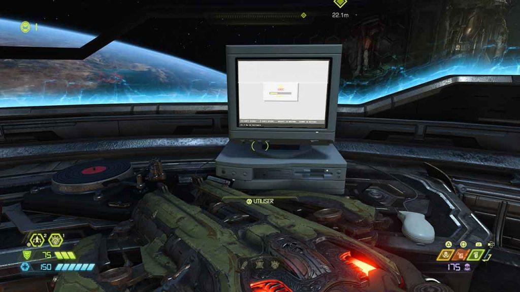 DOOM-Eternal-vieux-ordinateur-disquette-rouge