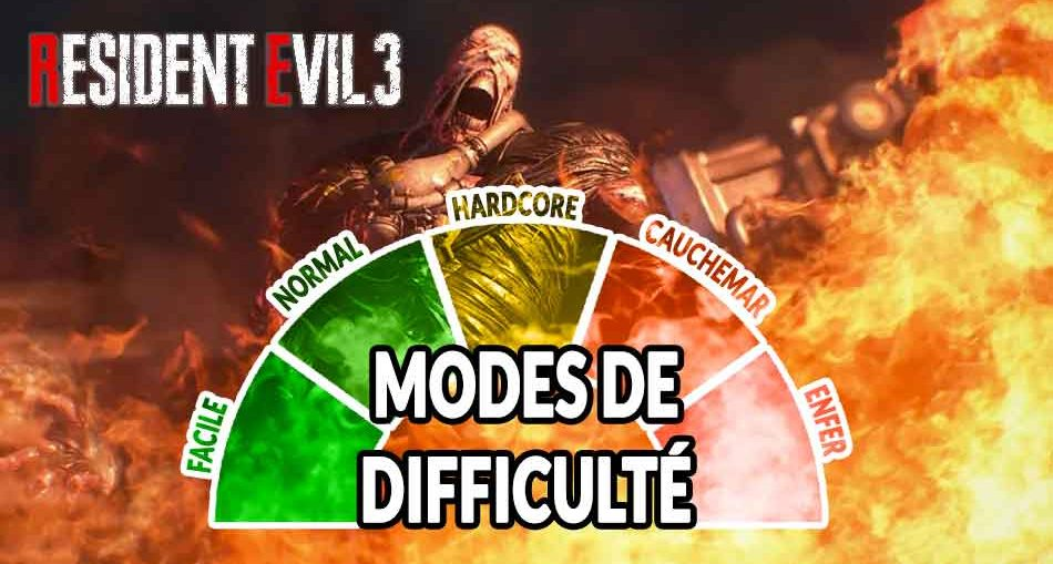 modes-de-difficulte-resident-evil-3-remake