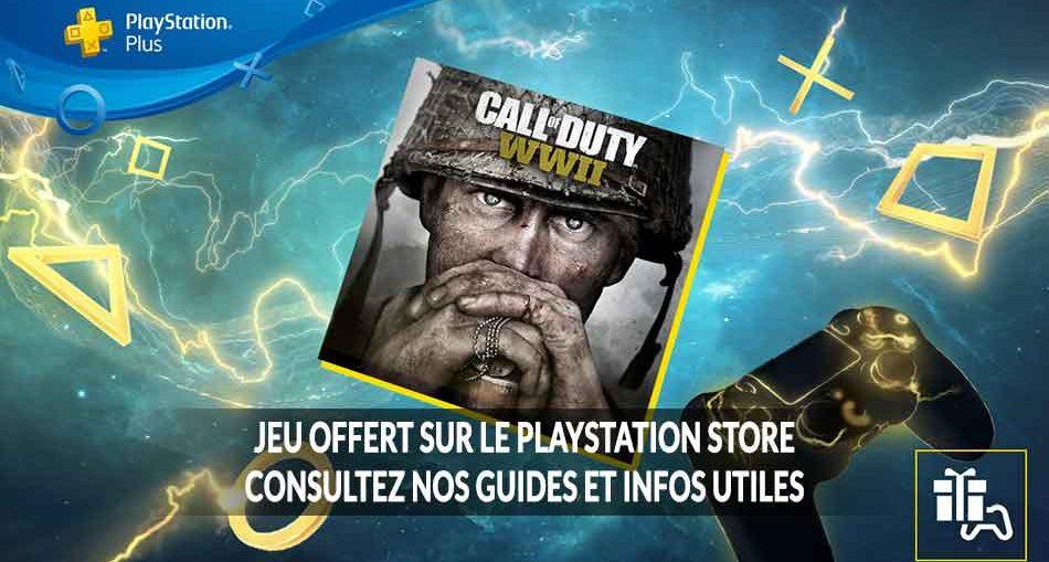 CoD-WW2-offert-PS4-liste-de-guides-utiles