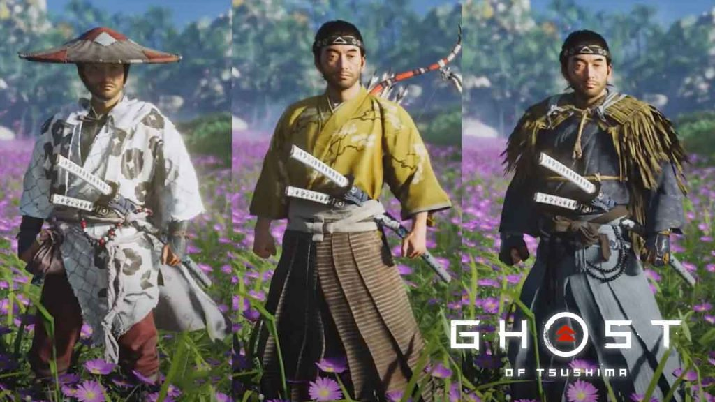 Ghost-of-Tsushima-armures-tenues-et-personnalisation