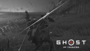 Ghost-of-Tsushima-mode-cinema-filtre-vieux-film-samurais