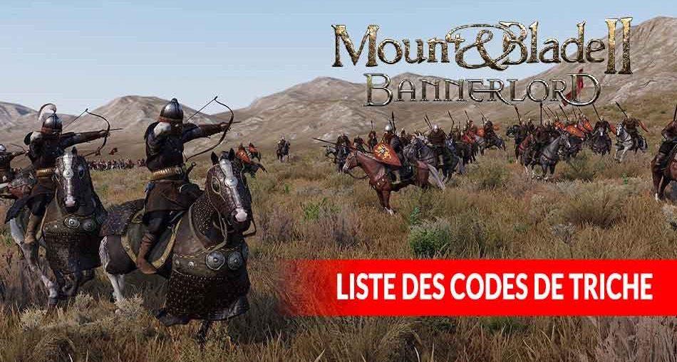 Mount-And-Blade-2-Bannerlord-commandes-et-codes-de-triche