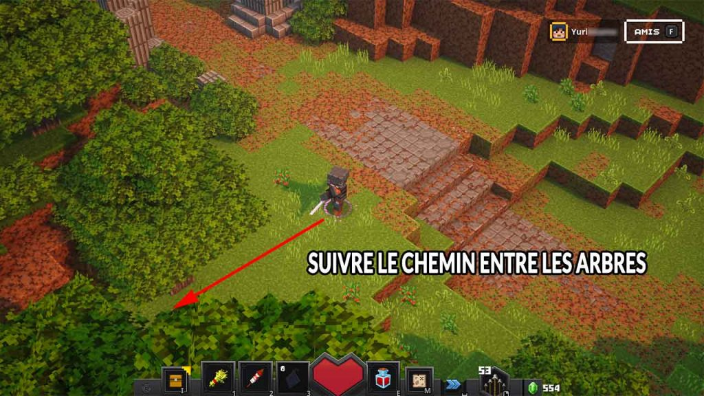 chemin-secret-camp-minecraft-dungeons