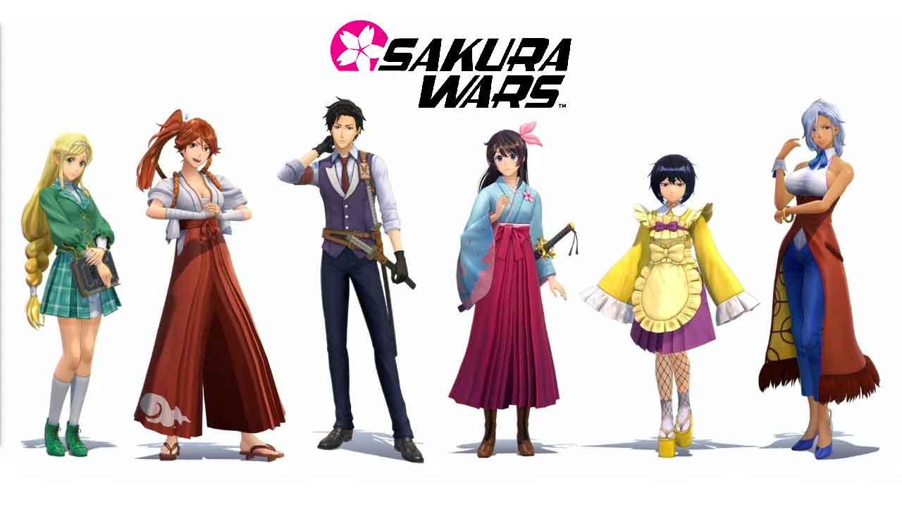 sakura-wars-brigade-des-fleurs-tous-personnages