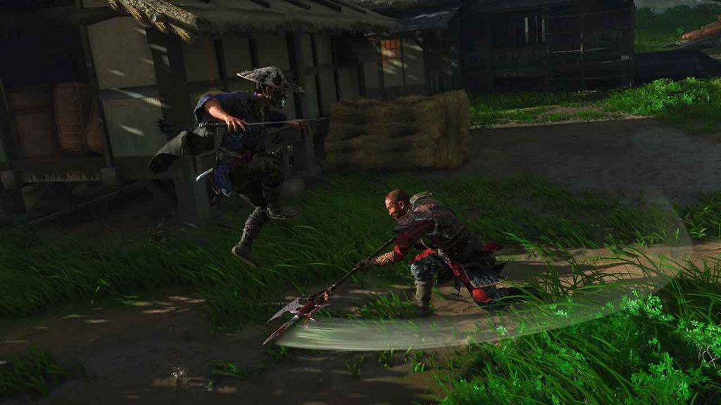 Ghost-of-Tsushima-astuce-combat-posture-lance