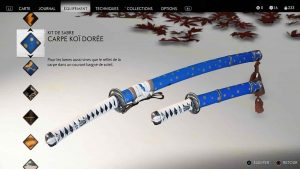 Ghost-of-Tsushima-kit-de-sabre-carpe-koi-doree