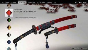 Ghost-of-Tsushima-kit-de-sabre-fortune-de-bishamon