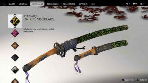 Ghost-of-Tsushima-kit-de-sabre-oni-crepusculaire