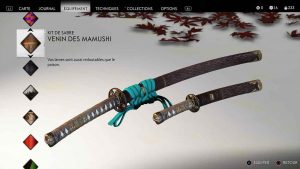 Ghost-of-Tsushima-kit-de-sabre-venin-des-mamushi