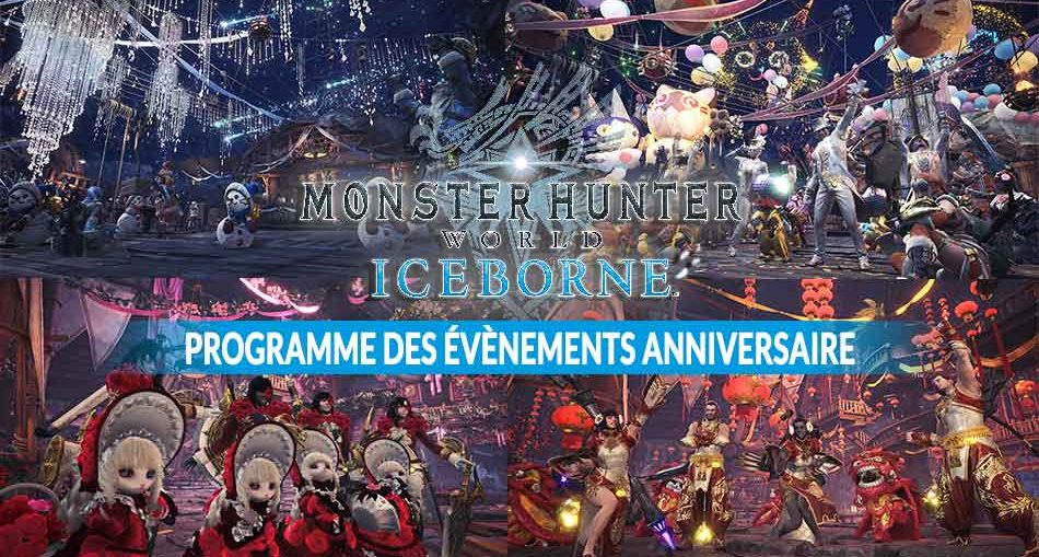 monster-hunter-world-iceborne-programme-evenements-anniversaire