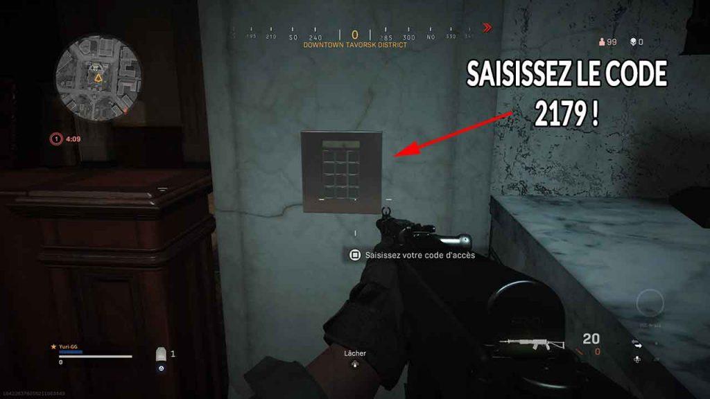 Call-of-Duty-Modern-Warfare-warzone-saisir-code-downtown