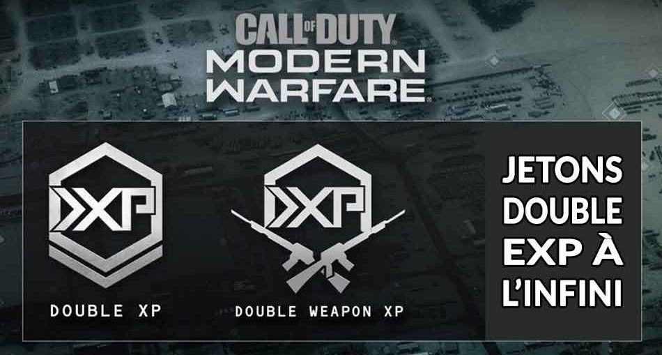 CoD-modern-warfare-warzone-jetons-double-xp-infini