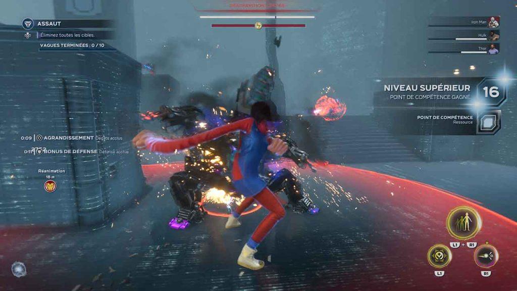Marvels-Avengers-niveau-superieur-defi-harm
