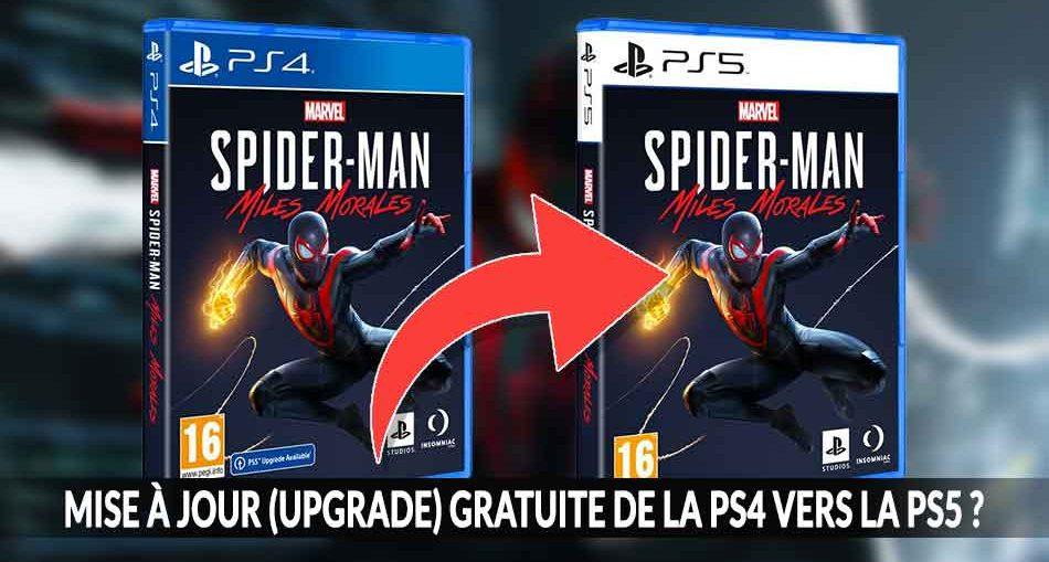 Spider-Man-Miles-Morales-upgrade-ps4-vers-PS5-gratuit