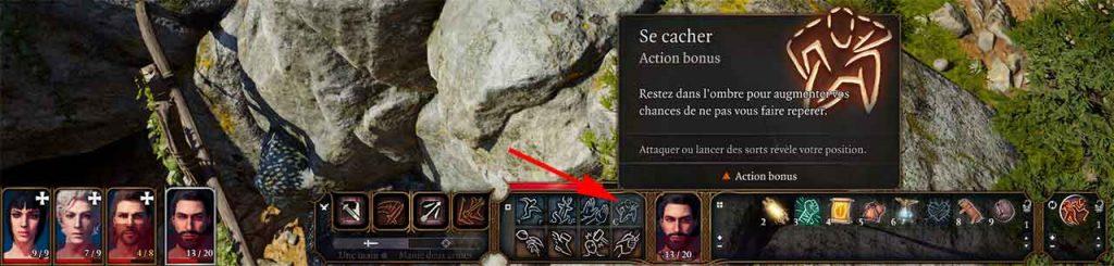 action-se-cacher-Baldurs-Gate-3