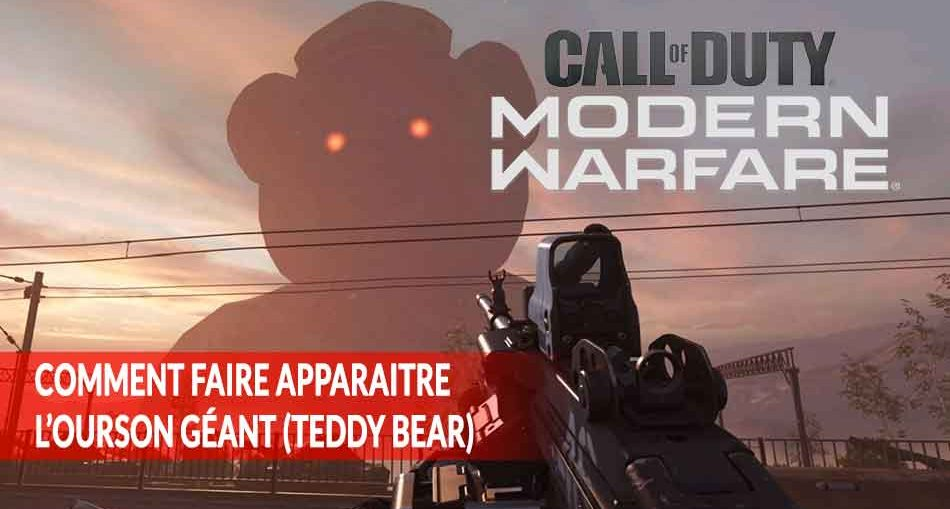 guide-tuto-teddy-bear-ours-geant-CoD-Modern-Warfare-map-station