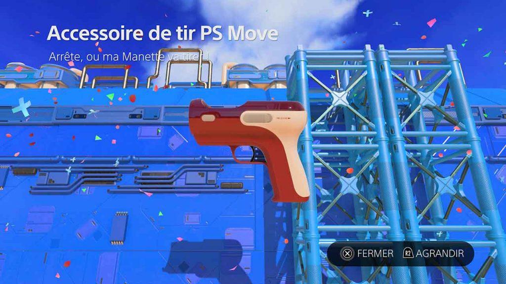 Astros-Playroom-PS5-artefact-accessoire-de-tir-PS-Move