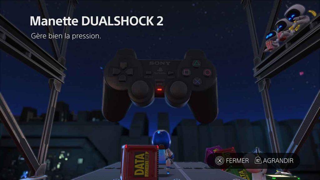 Astros-Playroom-PS5-artefact-manette-dualshock-2-du-monde-Circuit-SSD