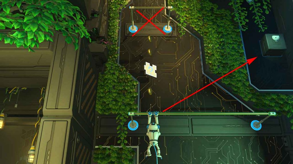 Astros-Playroom-PS5-emplacement-artefact-4-jungle-du-GPU