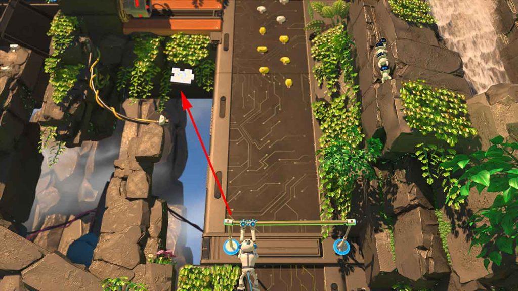 Astros-Playroom-PS5-obtenir-la-piece-de-puzzle-1-jungle-du-GPU-grimpette-teraflops