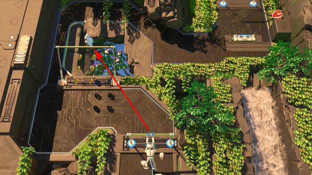 Astros-Playroom-PS5-obtenir-la-piece-de-puzzle-2-jungle-du-GPU-grimpette-teraflops