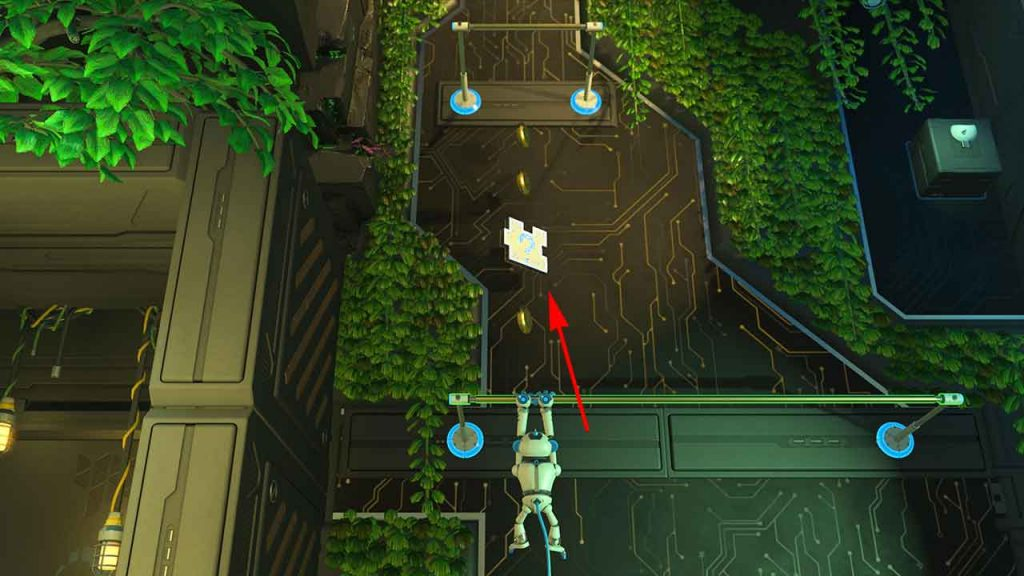 Astros-Playroom-PS5-obtenir-la-piece-de-puzzle-3-jungle-du-GPU-ascension-graphique
