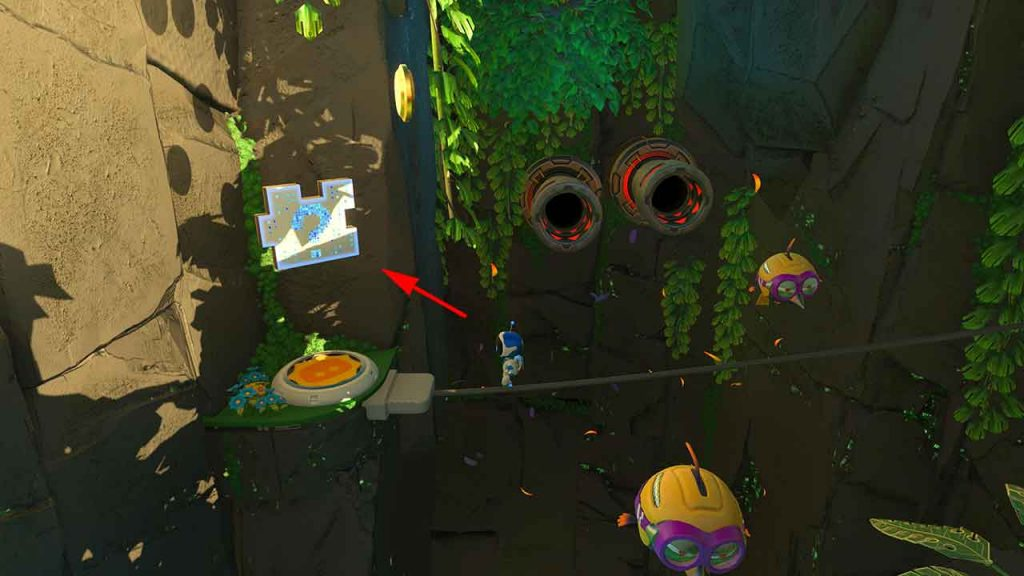 Astros-Playroom-PS5-obtenir-la-piece-de-puzzle-3-jungle-du-GPU-foret-digitale
