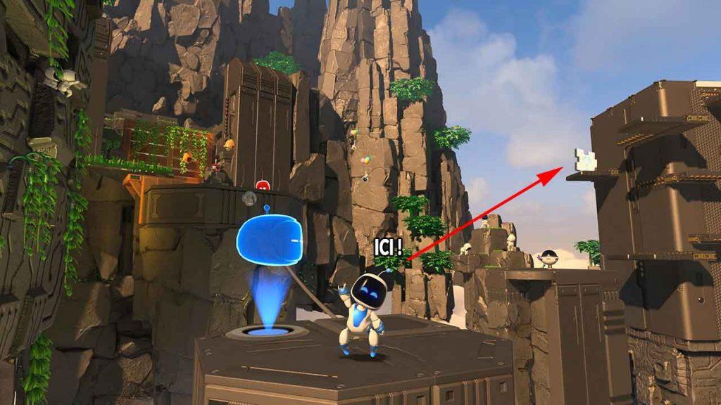 Astros-Playroom-PS5-obtenir-la-piece-de-puzzle-3-jungle-du-GPU-ruines-du-rendu
