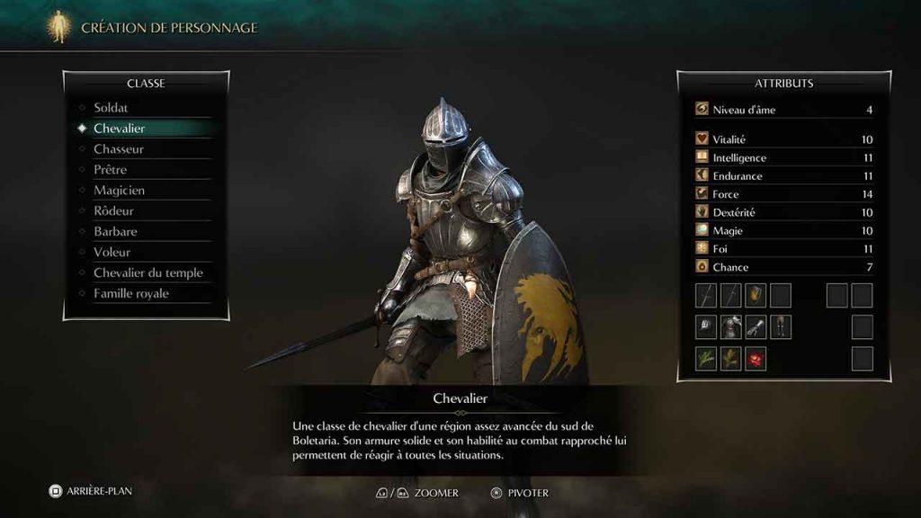 Demons-Souls-Remake-PS5-classe-de-personnage-chevalier